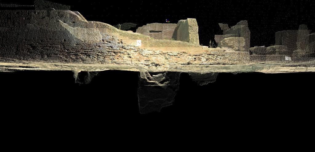 2 - section underground pillar direction east - Kopie