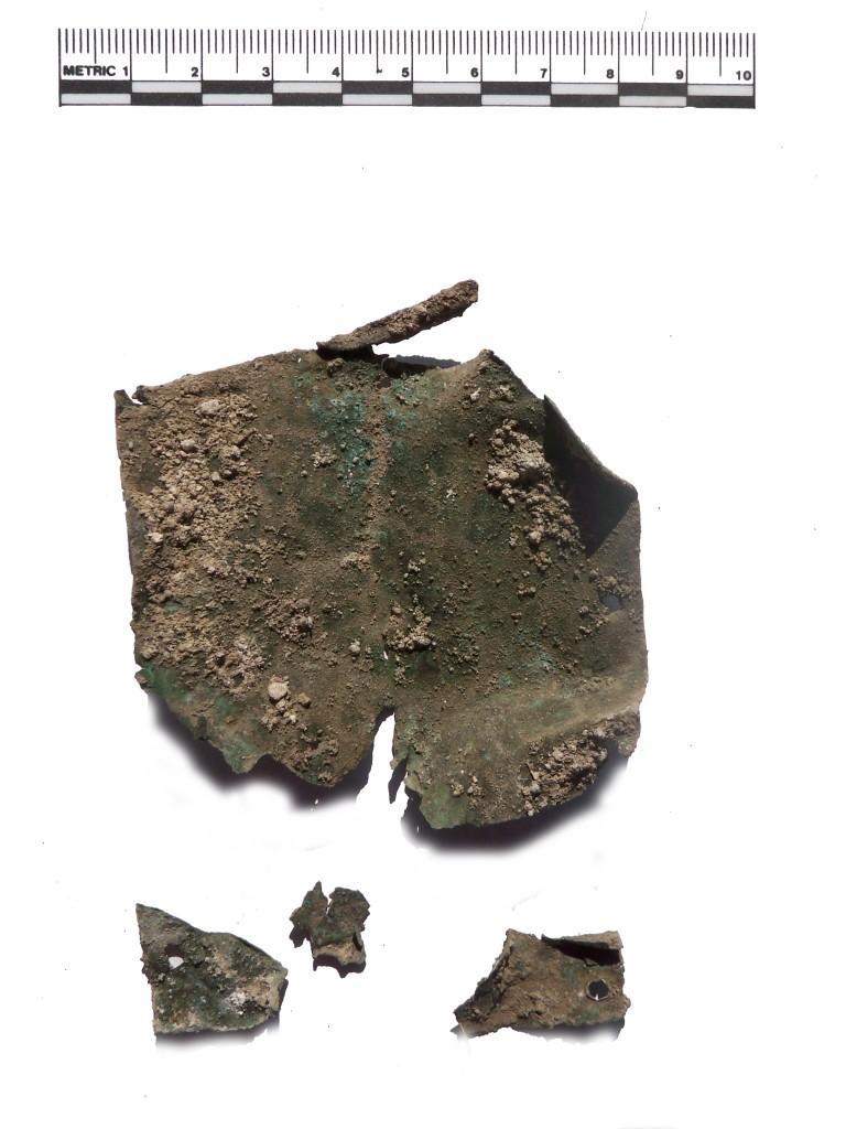 bronzeblech möbelapplik