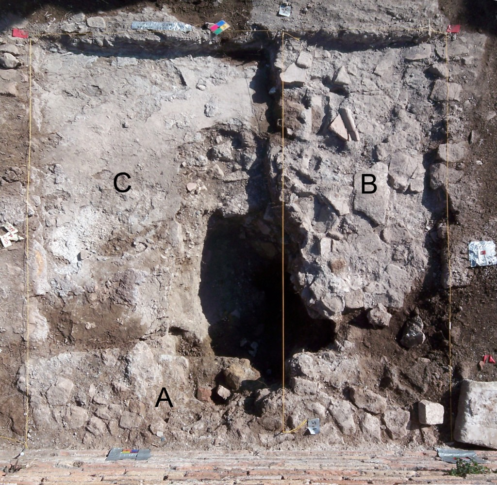 mortar stratigraphy