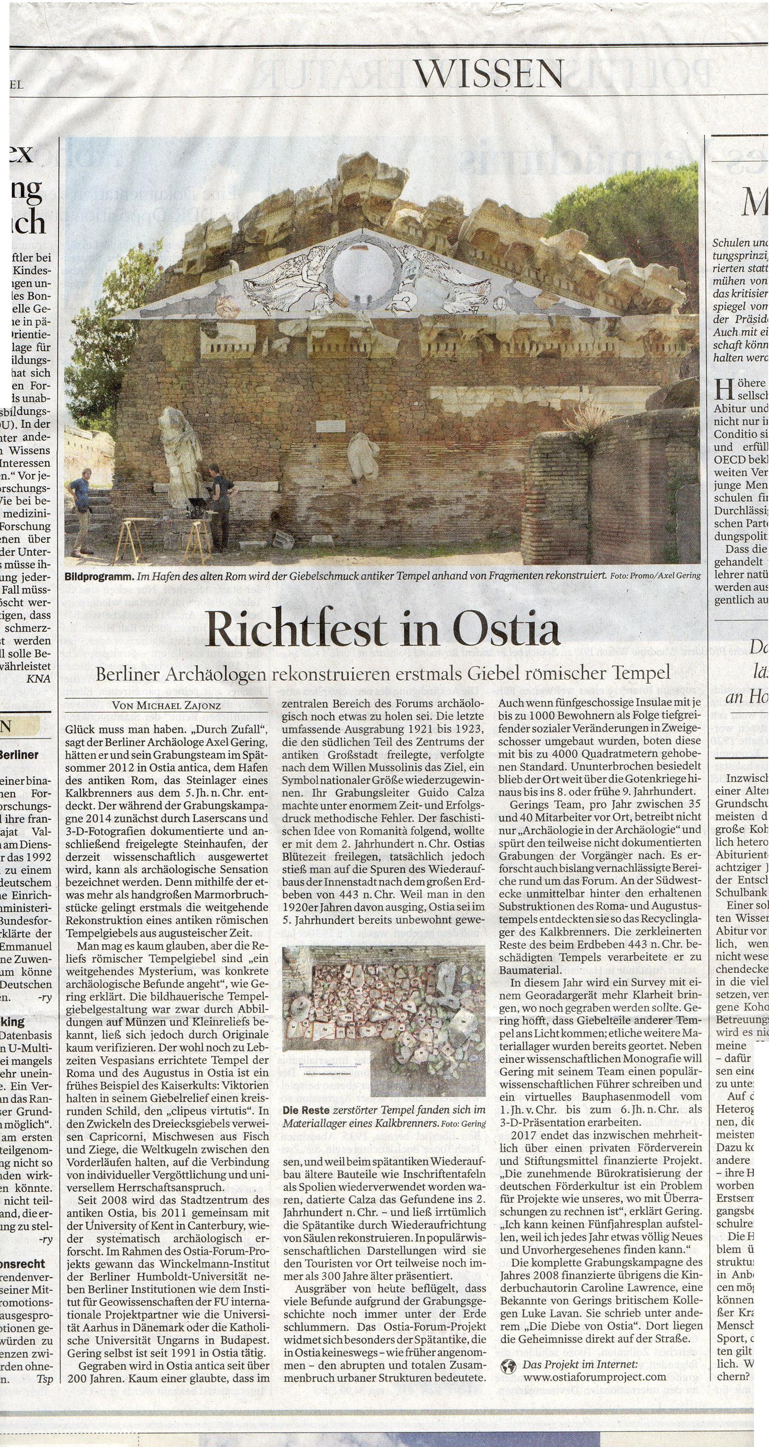 Tagesspiegel zum 1 April 2015 jpg