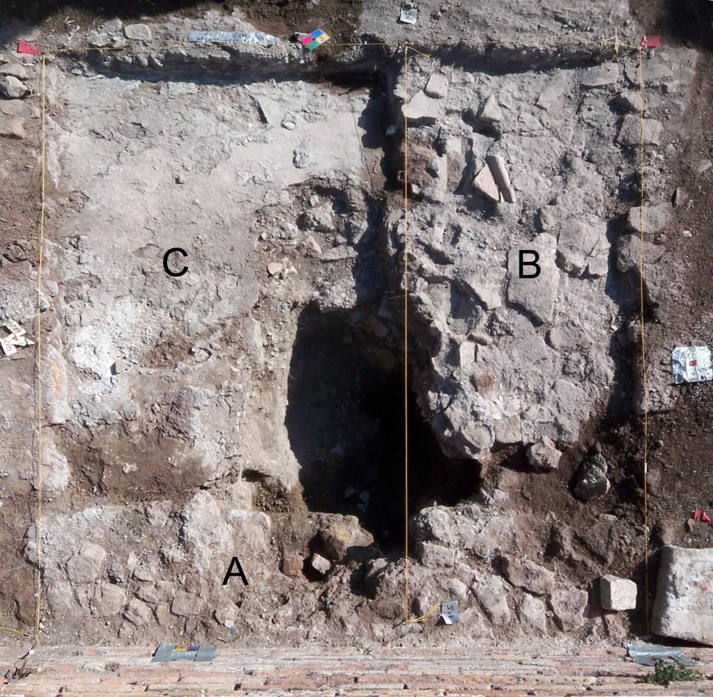 mortar stratigraphy
